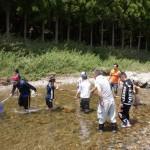 親子渓流釣り教室戸川 テイナ